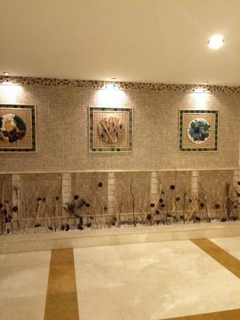Saphir Resort & Spa: Hall way