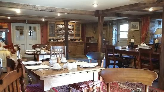 The Cornmill: The breakfast room