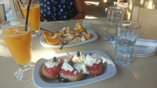 Agarathos : La nostra colazione