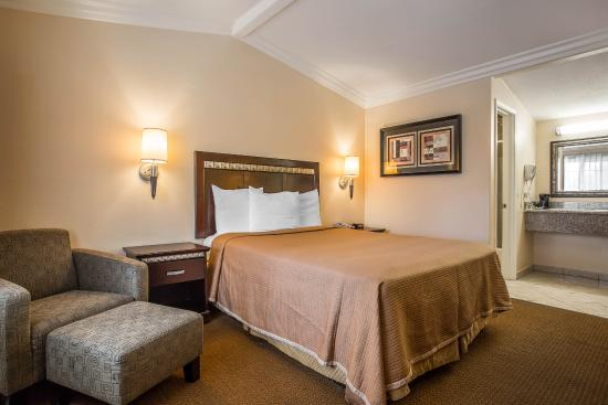 Rodeway Inn Near Legoland : Guest Room