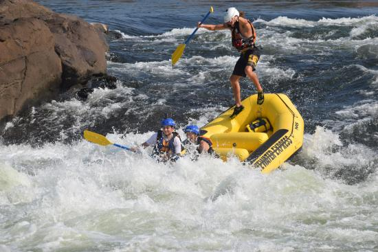 Rafting Down The Chattahoochee River Picture Of