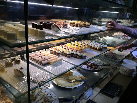 Great Selection Of Cakes And Desserts Picture Of COSMO Edinburgh Edinburgh