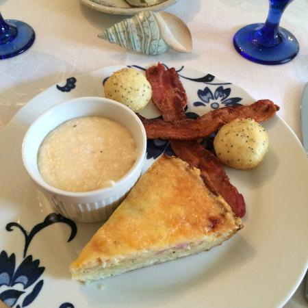 Magnolia Springs Bed & Breakfast: 2nd course Day 3