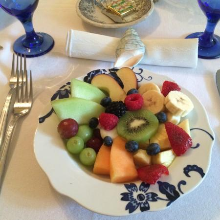 Magnolia Springs Bed & Breakfast: 1st course