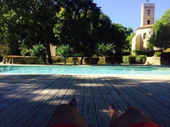 Lignan-sur-Orb, فرنسا: la piscine