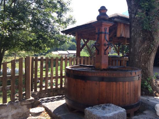 Auberge Montagnarde: La fontaine