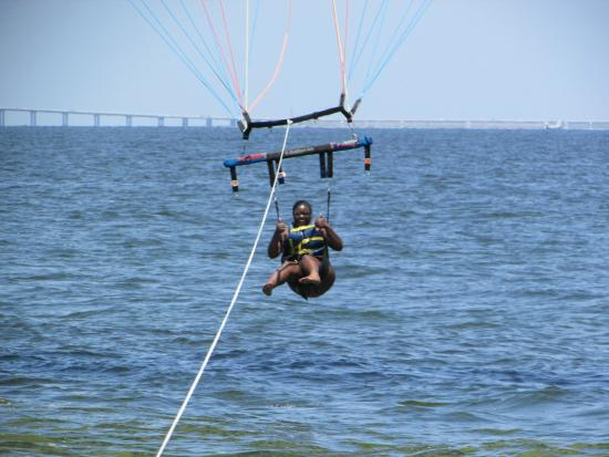 Englewood Parasailing & Tours: After the ocean plunge
