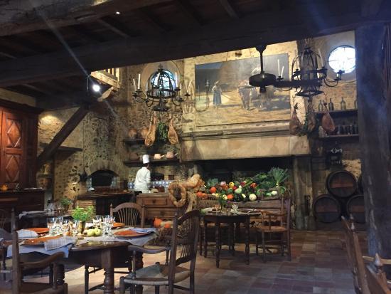 Restaurant la ferme aux grives picture of restaurant la - Location cure eugenie les bains ...