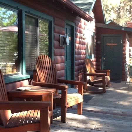 Eagle's Nest Bed and Breakfast Lodge: Gold rush cabin