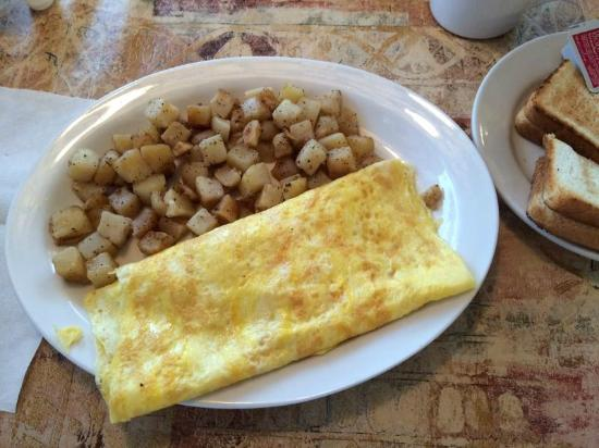 Western Omelette at Horne's Restaurant, Port Royal, VA