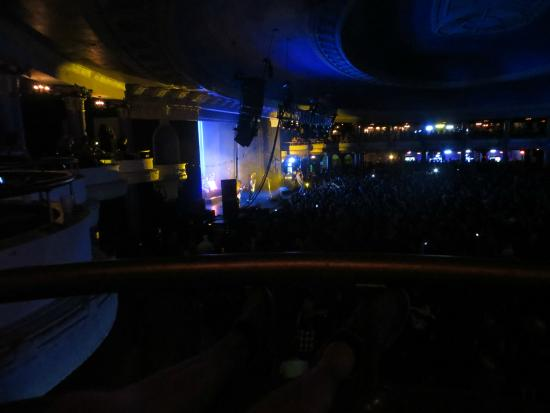 The Rave Eagles Club View Of Stage From Balcony Not Far Bar