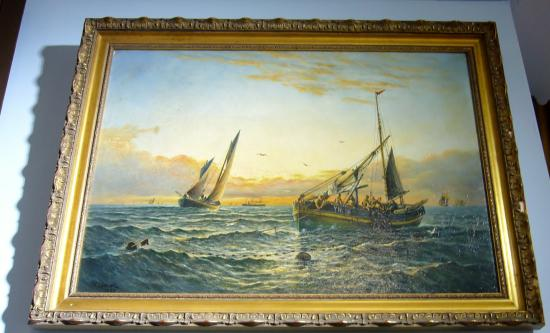 Lowestoft and East Suffolk Maritime Museum: George Vemply Burwood