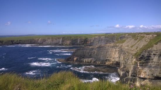Bromore Cliffs: Great views