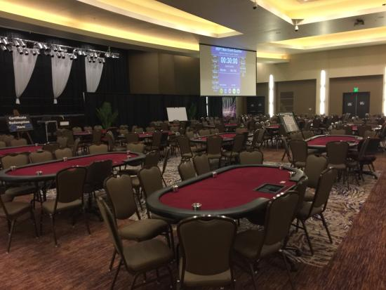 Larchwood, IA: Great MSPT poker event here every year, $1,100 buy-in with $150,000 guarantee! Check out the spa