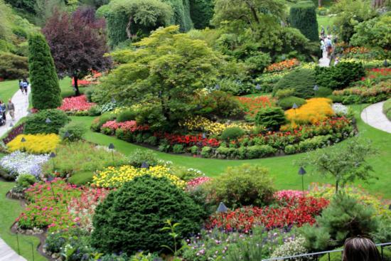 Wow Foto Di The Butchart Gardens Central Saanich Tripadvisor