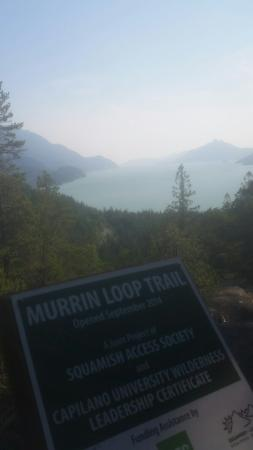 Britannia Beach, Canada: Murrin loop trail