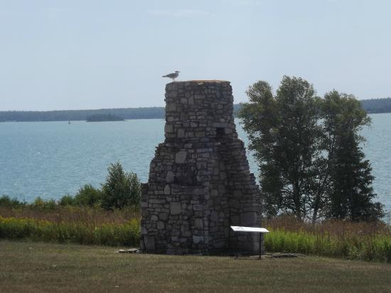 St. Joseph Island, Canada: The Chimney