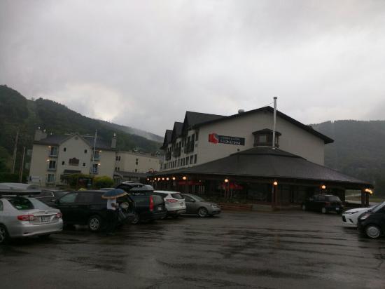 Condos & Hotel Stoneham : Front view
