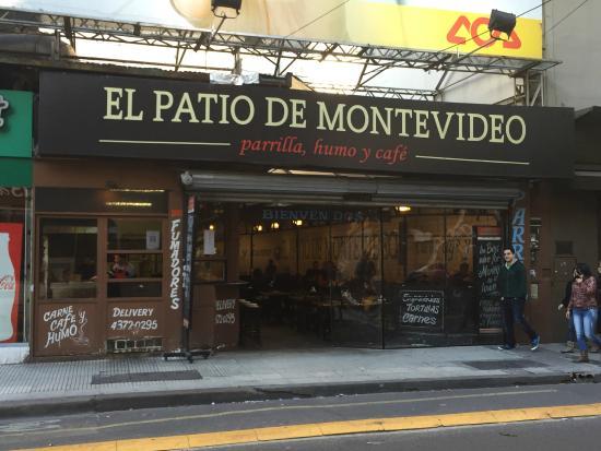 El Patio De Montevideo: Open Restaurant