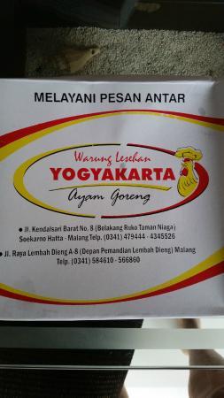 Suasana Asri Foto Van Warung Lesehan Yogyakarta Malang Tripadvisor