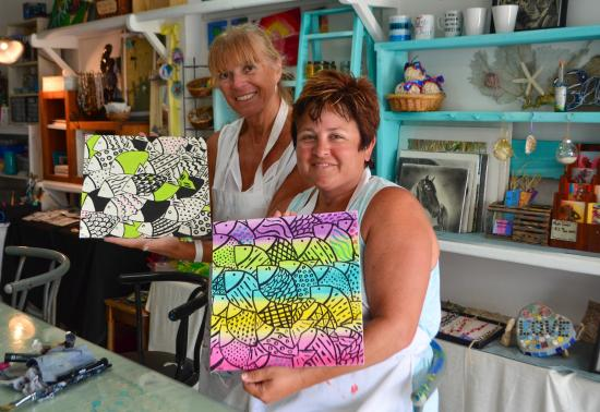 Belizean Melody Art Gallery: Ta Da! Our finished product!