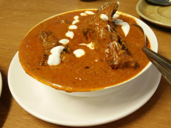 Butter chicken - Picture of Hotel Paragon Restaurant ...
