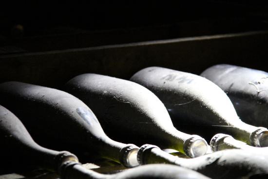 La Chevalee : The caves at Veuve Clicquot