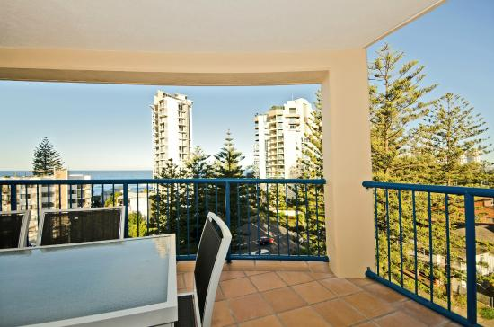 San Mateo Apartments Gold Coast: Balcony Views