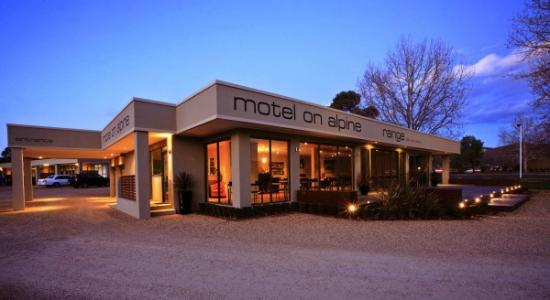 Motel on Alpine: Find us on the Great Alpine Road, Myrtleford.