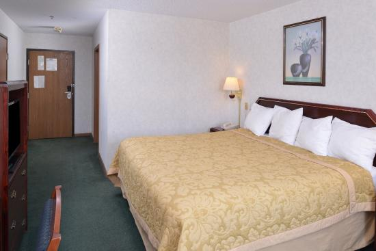 Wenona, IL: One King Bed Guest Room