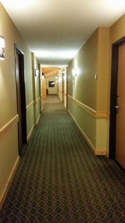 MountainView Lodge & Suites : hallway