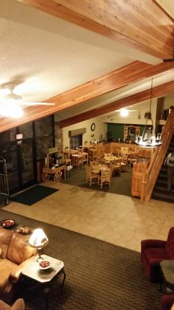 MountainView Lodge & Suites : breakfast area