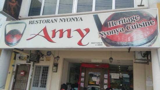 Amy Heritage Nyonya Cuisine: Amy's Nyonya Heritage Cuisine