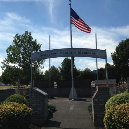 ‪Scappoose Veterans Memorial‬