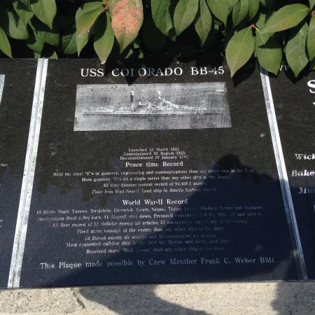 Scappoose, OR: Sample of the 60+ informational plaques...