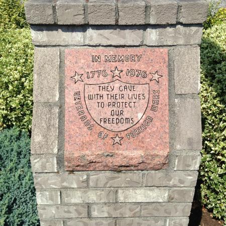 Scappoose, OR: VFW marker...