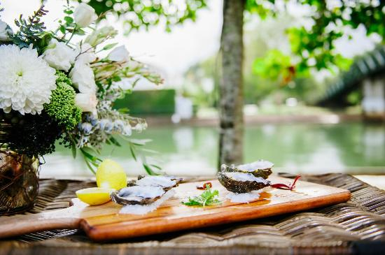 Noosa Waterfront Restaurant & Bar: Oysters with a view