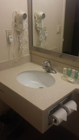 Quality Hotel: Bathroom