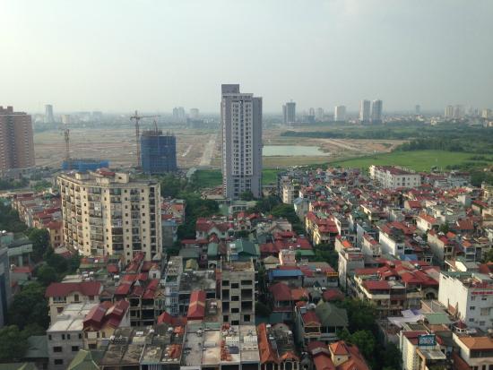 Somerset Hoa Binh: 窓からの景色