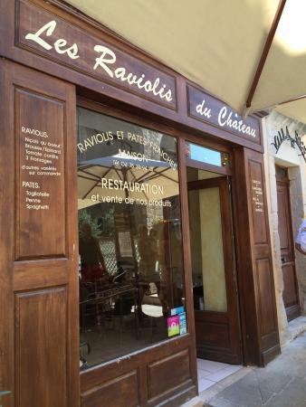 Restaurant les raviolis du chateau dans aubenas avec cuisine italienne - Remontee odeur egout ...