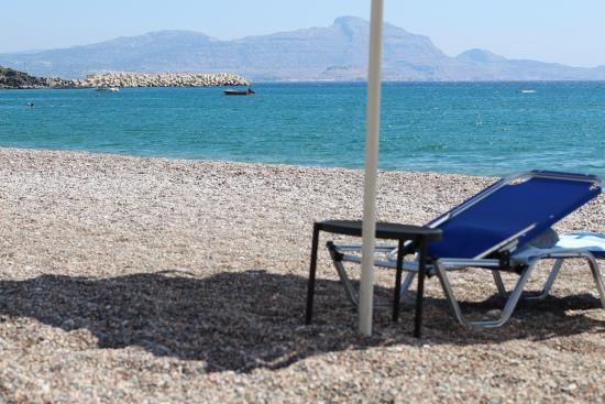TUI Sensimar Lindos Bay Resort & Spa: SPIAGGIA