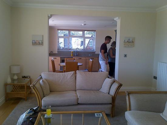 Goodrington Lodge Luxury Apartments: Kitchen