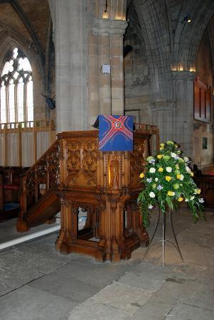 St. Michael's Parish Church: The lecturn