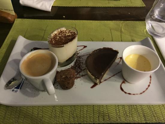 Nachspeise caf gourmand picture of la table du cuisinier saint gervais la foret tripadvisor - La table du cuisinier saint gervais la foret ...
