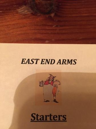 East End Arms: Logo