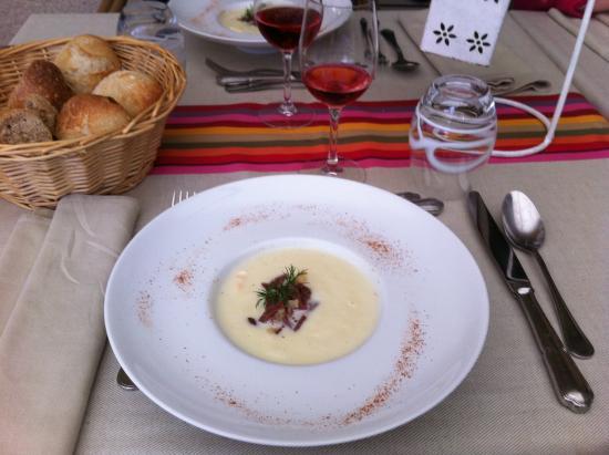 Chitenay, ฝรั่งเศส: menu 35 euros entrée