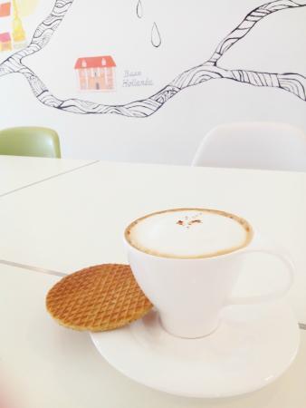 Baan Hollanda: Coffee and Dutch waffle