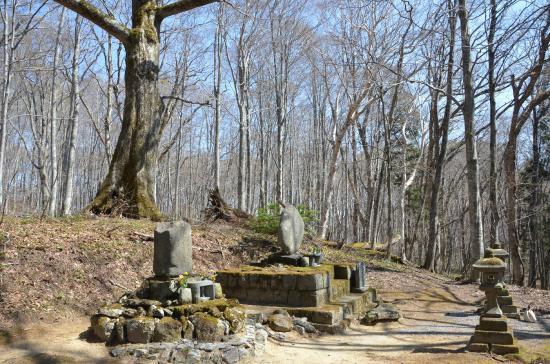 大町桂月の墓