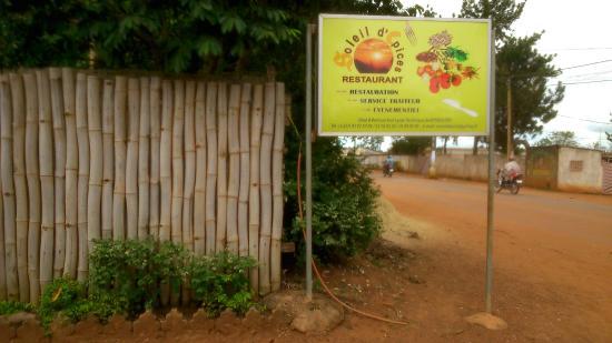 Bertoua, Kamerun: Restaurant soleil d'épices