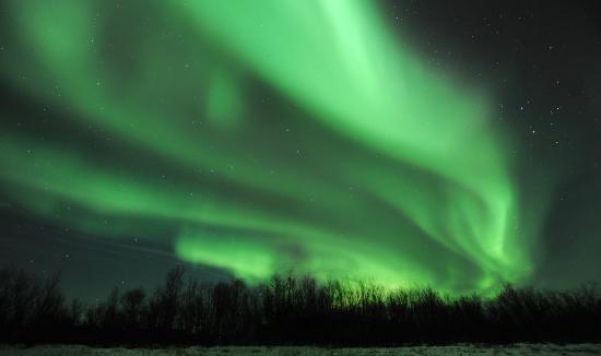 Levi Tourist Office: Breathtaking Northern Lights in autumn in Levi!